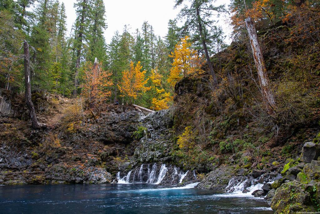 Tamolitch Falls Blue Pool