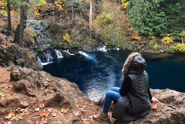 Tamolitch Blue Pool Hike in Oregon