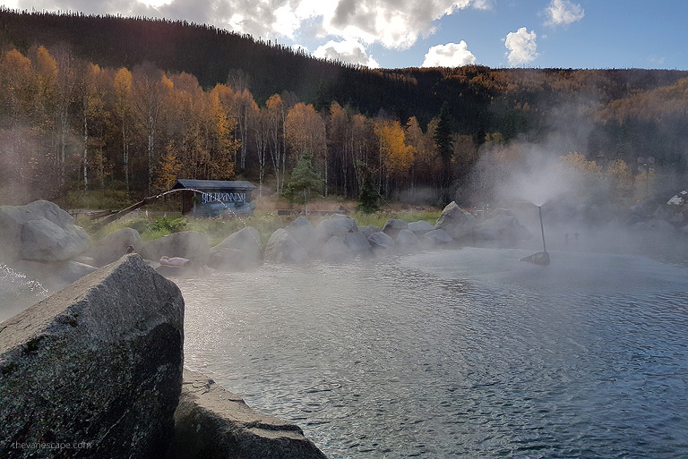 Hot Springs in Alaska
