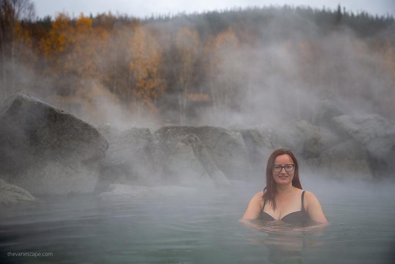 Chena Hot Springs in Alaska