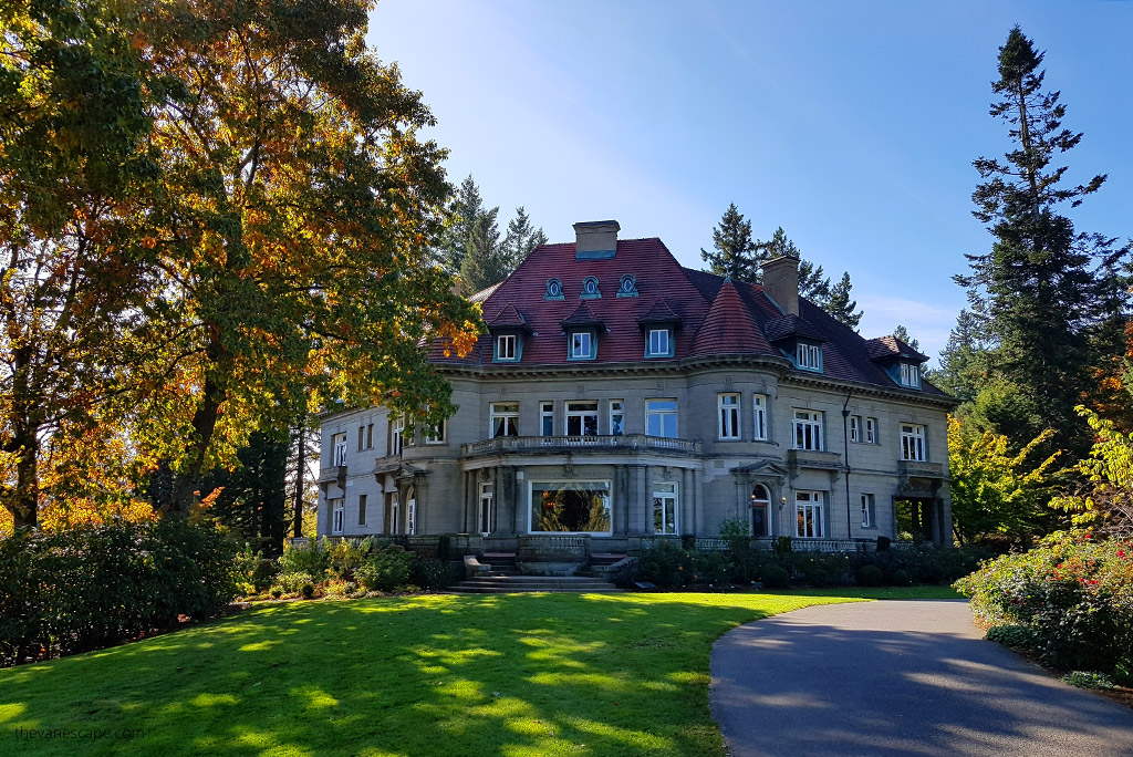 # days in Portland Itinerary - Pittock Mansion at Nob Hill
