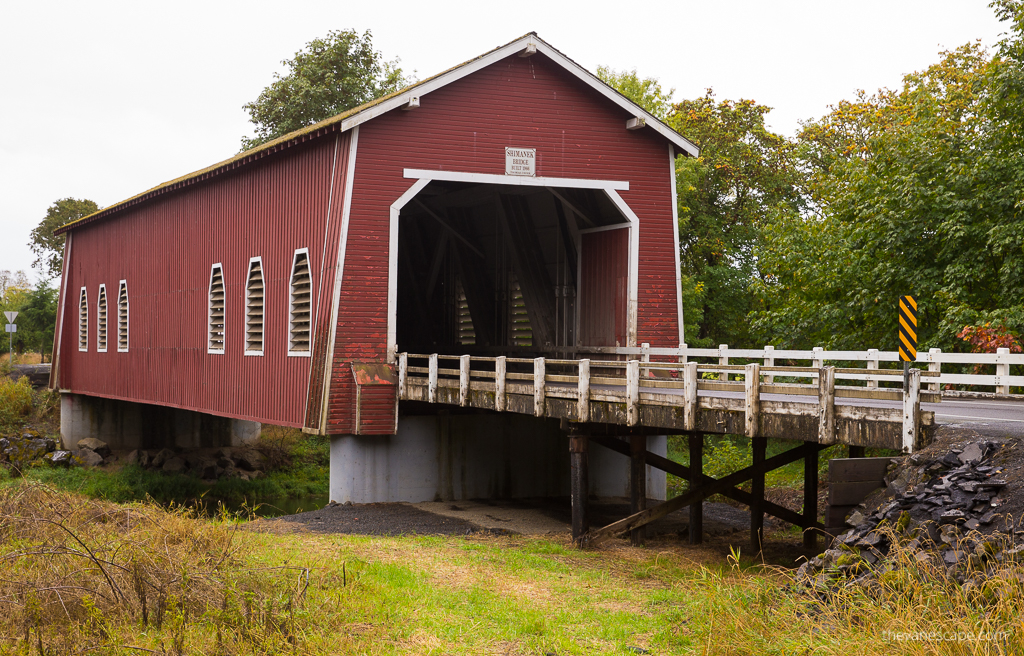Oregon Covered Bridges - Shimanek Bridge