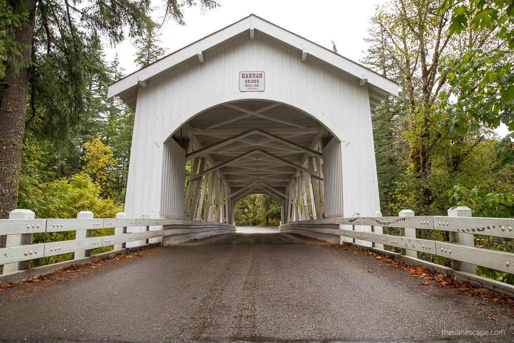 Oregon Covered Bridges - Hannah Bridge