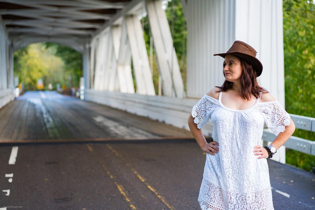 Oregon Covered Bridges - Larwood Bridge