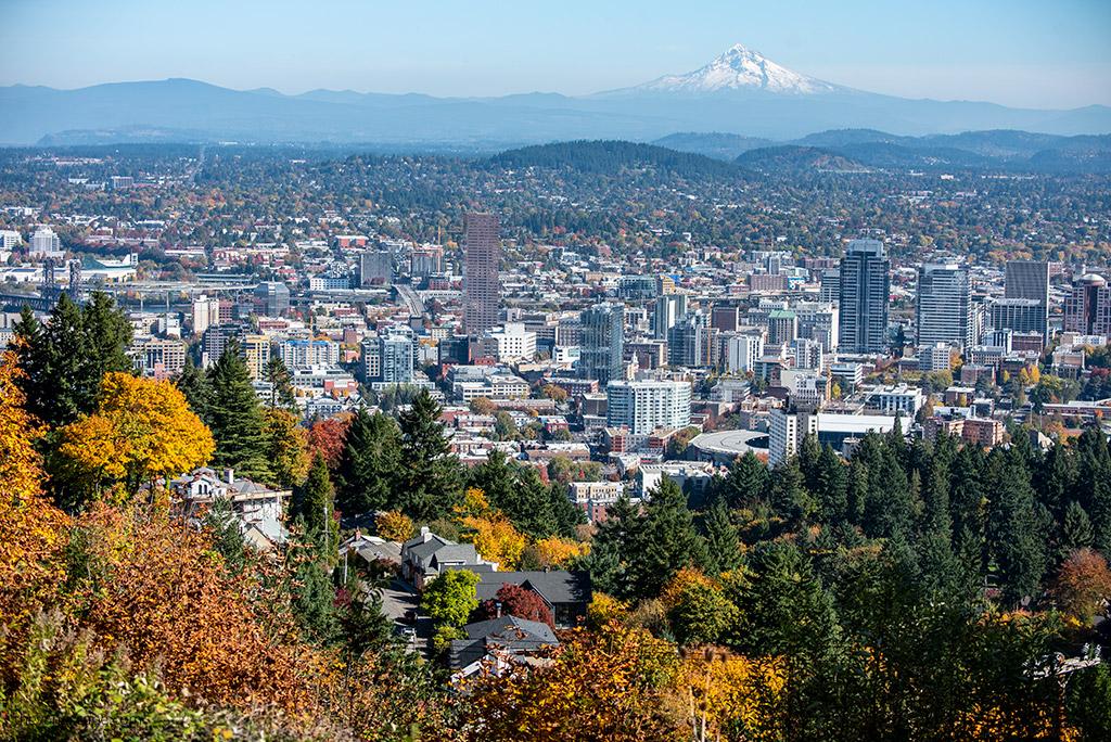 Oregon road trip - Mt Hood from Portland