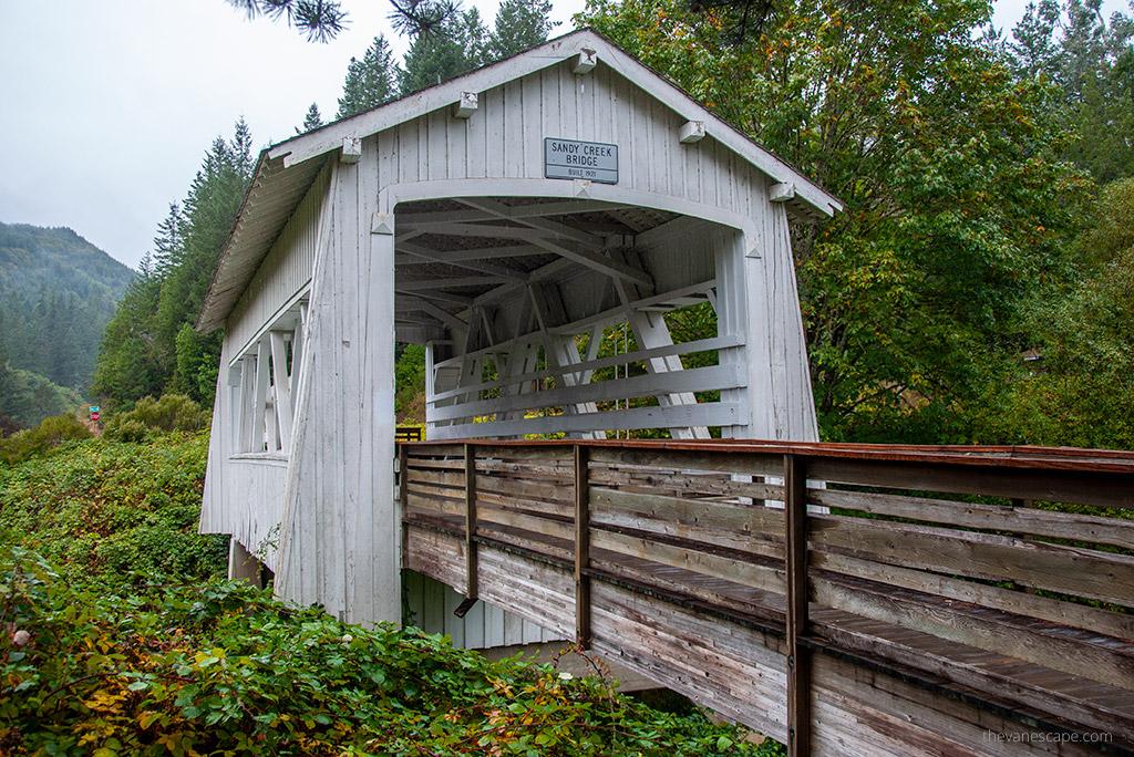 Oregon Covered Bridges - Sandy Creek Bridge