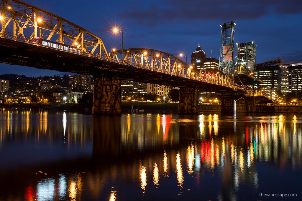 bridges in Portland