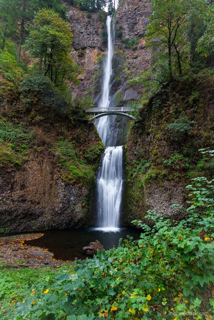 oregon road trip itinerary - Multnomah Falls