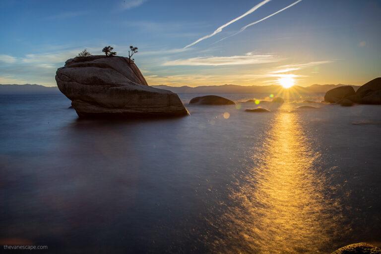 Lake Tahoe Attractions & Bonsai Rock