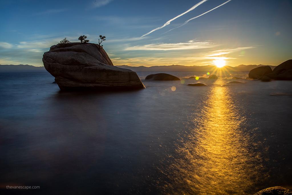 Lake Tahoe Attractions - Bonsai Rock