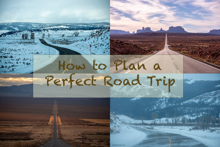 How to plan a road trip?