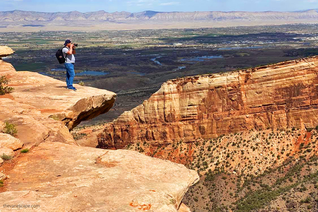 best viewpoints in the Colorado National Monument