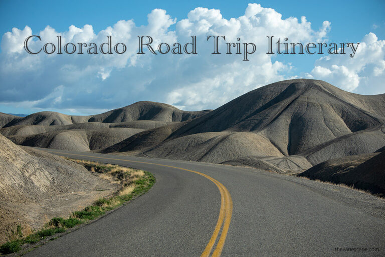 Colorado Road Trip Itinerary for 2021