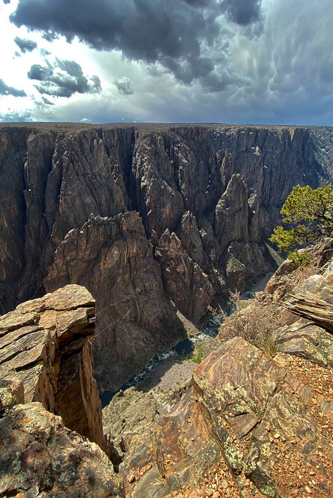 Black Canyon of the Gunnison National Park North Rim